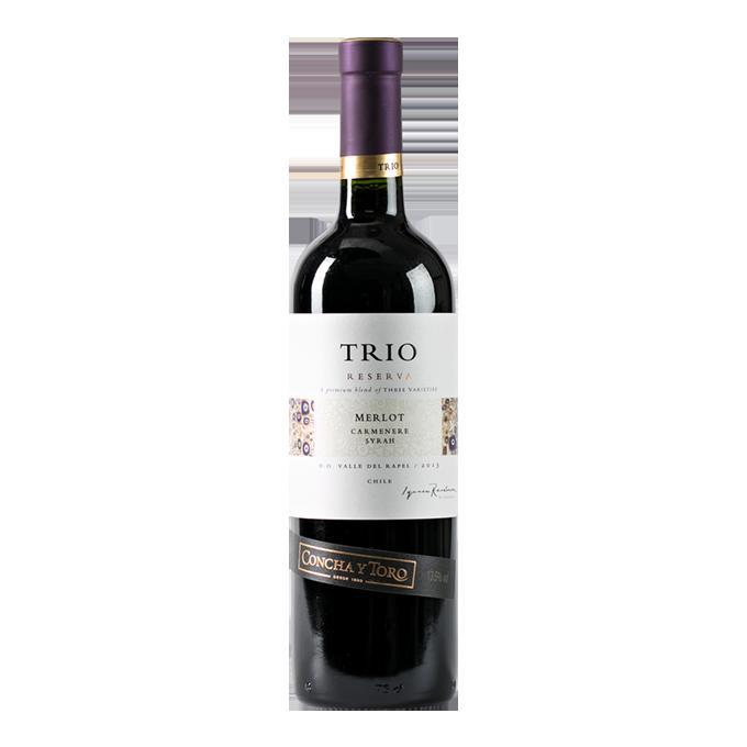 Trio Reserva/ Concha y Toro